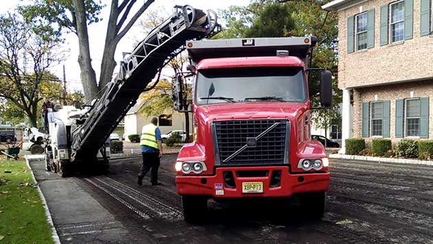 Asphalt Paving Contractor Services in Upper Saddle River, NJ